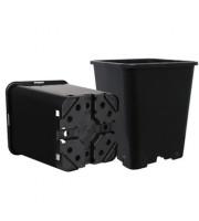 Vaso Quadrado Anti Stress c/ Plástico Resistente - 11,3 Litros