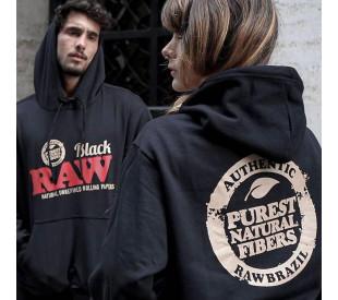 Blusa Moletom Raw Black