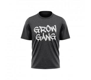 Camiseta Grow Gang - Mescla Chumbo