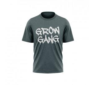 Camiseta Grow Gang - Mescla Verde