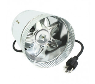 Exaustor In-Line Duct Fan - METAL - 100mm - 110v
