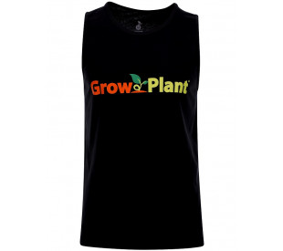 Camiseta GrowPlant Preta