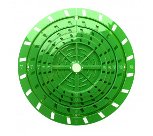 "Round Matrix 7.5-9"" (19 a 22,8 cm) - FloraFlex"