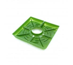 "Square Matrix - 4"" (10cm) - Unidade - FloraFlex"