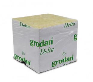 Lã de Rocha - Grodan - 4 x 4 x 4 cm - unidade
