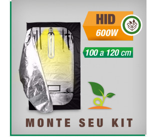 Kit Cabine de Cultivo - 600 watts