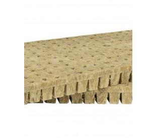 Lã de Rocha - Grodan - 4 x 4 x 4 cm - 50 Células