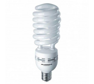 lampada fluorescente espiral