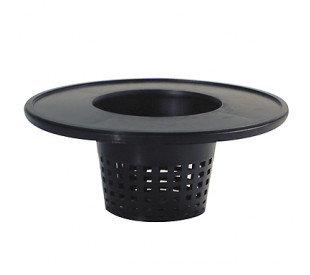 Net Pot Bucket Lid 6""