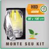 Kit cabine de cultivo 400w